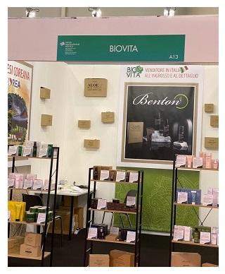 Benton BioVita fiera Roma 2020 immagine1